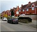 SO9623 : Brick houses, Bouncers Lane, Prestbury by Jaggery