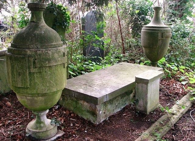The grave of Thomas Drummond