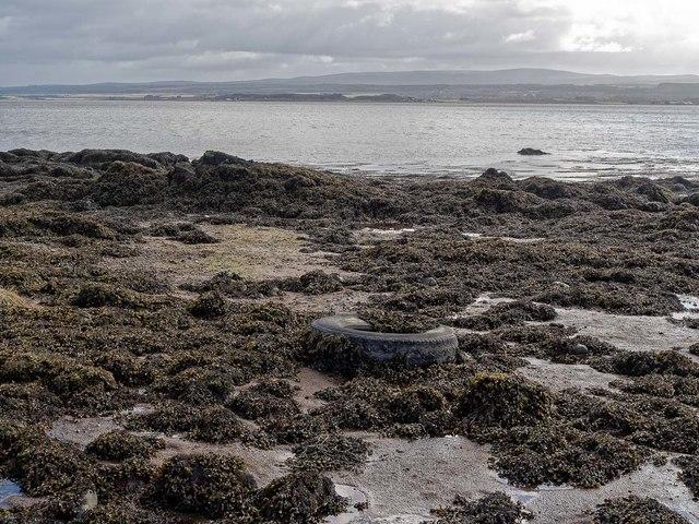 Shoreline below Taindore