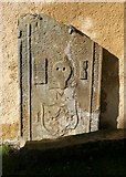 NO5603 : Old grave slab by Richard Sutcliffe