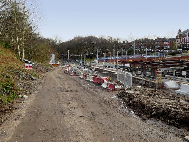 Upgrading Crumpsall Metrolink Station - March 2019