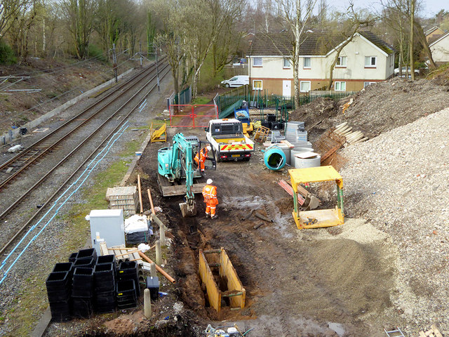 "Construction of ""Turnback"" at Crumpsall Metrolink Station"