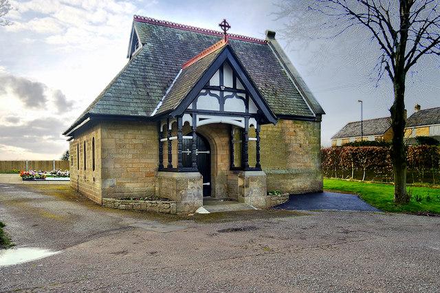 Chapel at Scotforth Cemetery