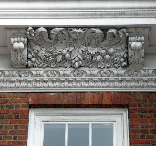 Detail of Wrencote, High Street