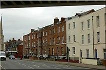 SO8318 : 38-60, Worcester Street, Gloucester by Alan Murray-Rust