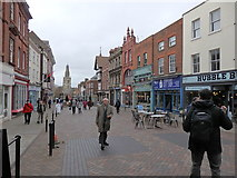 SO8318 : Westgate Street, Gloucester by Rudi Winter