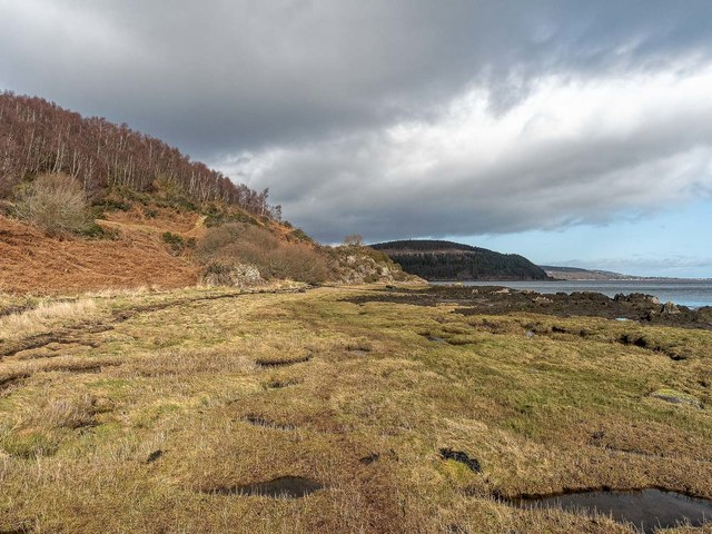 Shoreline at Arrie