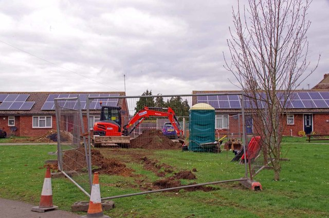 Excavations on Hardy's Green
