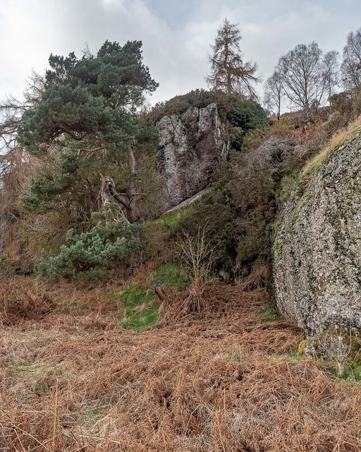 Rocks at Craigiehowe
