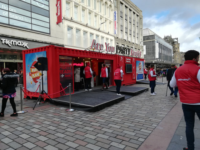 Jet2 Holidays party stall