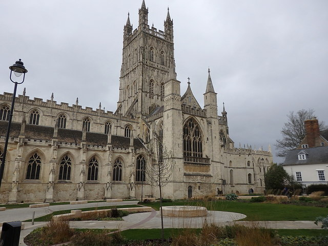 Gloucester Cathedral and Cathedral Close