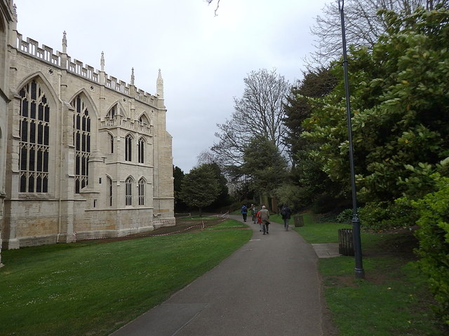 Gloucester Cathedral grounds