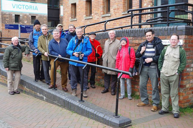Geographers at Gloucester Docks (14th Anniversary Meet-up)