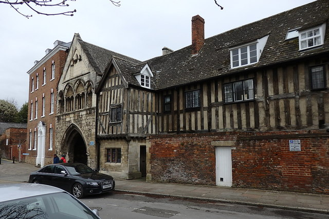 St Mary's Gate and Almoner's Lodgings, Gloucester Cathedral