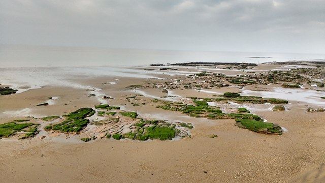 Low tide in Maryport