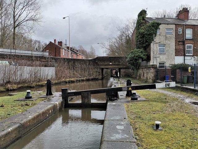 Lock 1W, Huddersfield Narrow Canal