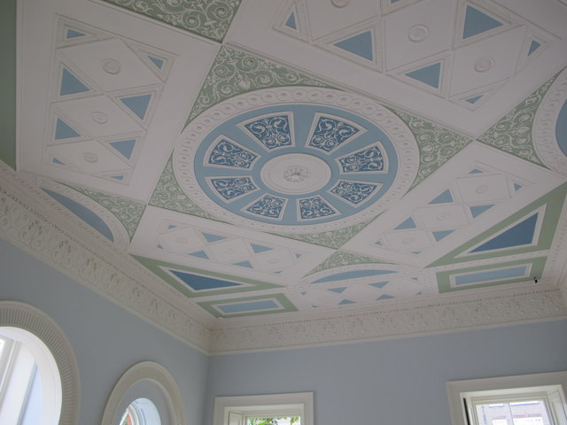 Ceiling, Upper Drawing Room, Pitzhanger Manor, Ealing