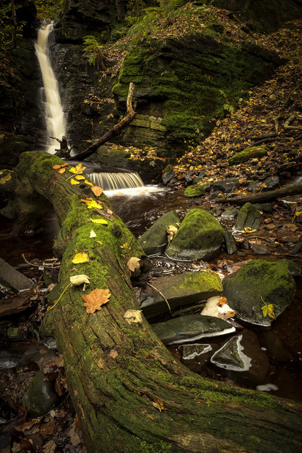 Crooked Edge Waterfall