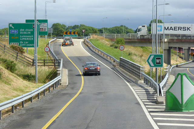 Northbound N25 (Waterford Bypass), Exit W1