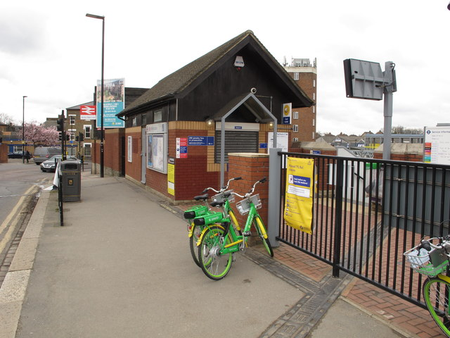 Acton Main Line Station ticket office