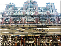 SP0686 : Burlington Hotel reflected in New Street Station, Birmingham by Matt Harrop