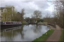 TL4311 : Parndon Mill lock by Robert Eva