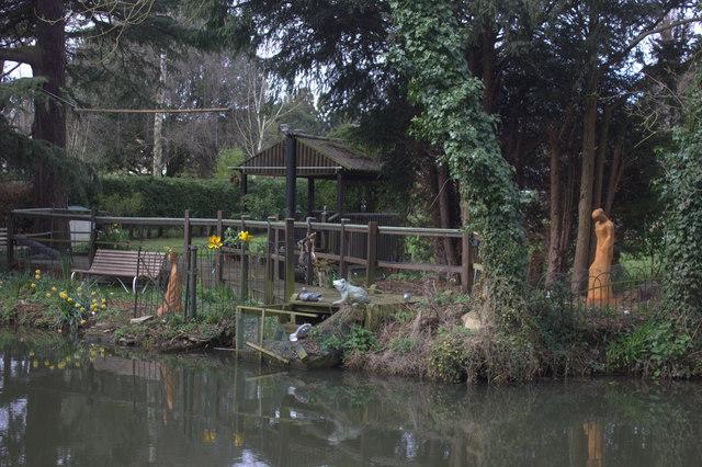 Mead Lodge garden