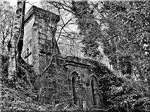 NS3881 : Tullichewan Castle - Balloch by Raibeart MacAoidh