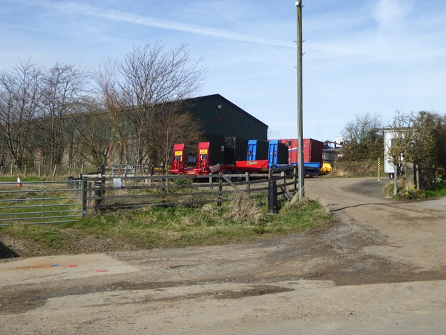 Trailers at Mickley Moor West Farm