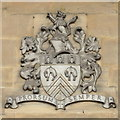 SO8218 : Coat of arms of Gloucestershire, Shire Hall, Gloucester by Rudi Winter