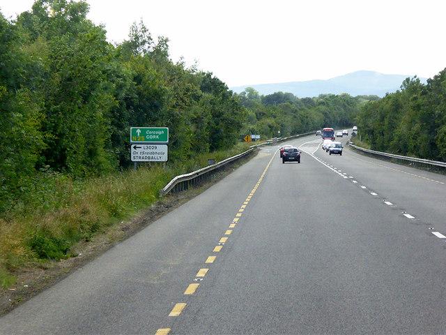 Westbound N25, Ahanaglogh