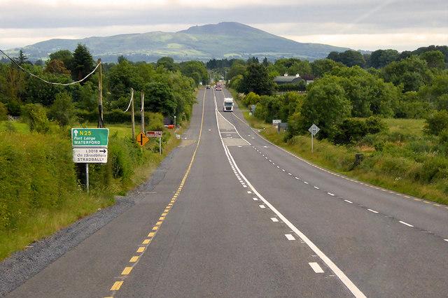 N25 approaching Downey's Crossroads