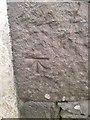 NY3406 : OS Cut Mark: Grasmere, A591, Daffodil Hotel Staff Quarters by thejackrustles