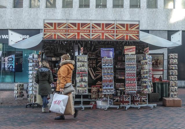 Birmingham Souvenir Stall
