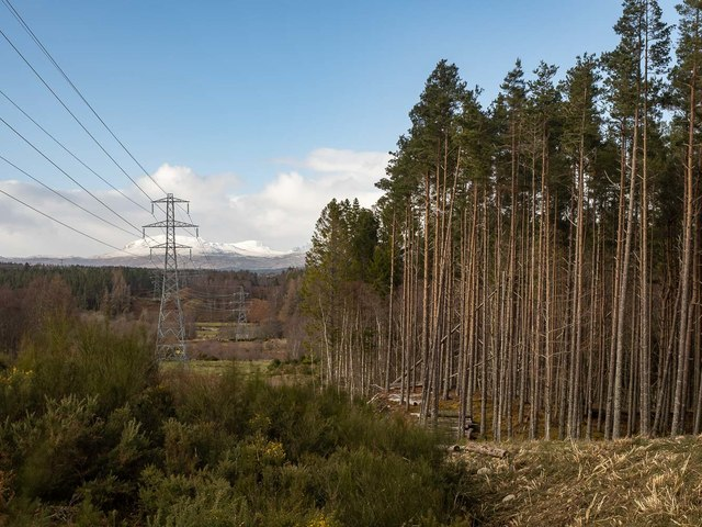 Beauly - Mossford 132kV Pylon Line
