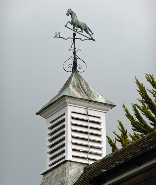Weathervane near Hammerwood
