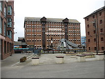 SO8218 : Llanthony Warehouse, Gloucester Docks by David Purchase