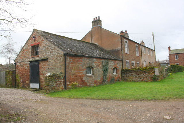 Houses and outbuilding
