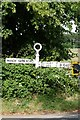 TL2454 : Old Direction Sign - Signpost by Milestone Society