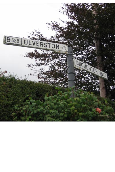 Old Direction Sign - Signpost