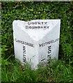 SD5274 : Old Boundary Marker by Milestone Society