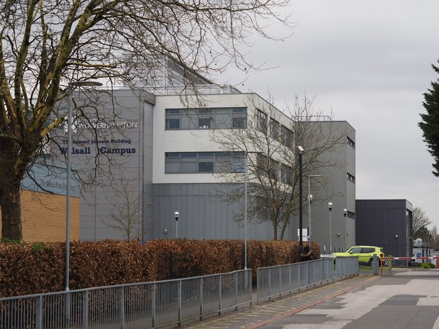 The  Samuel Johnson Building, Walsall Campus, University of Wolverhampton