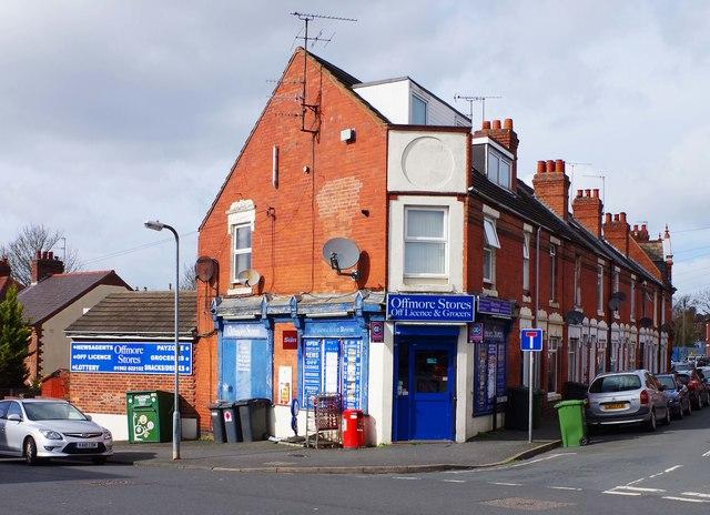 Offmore Stores, 1 Albert Road, Kidderminster, Worcs
