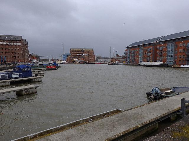 Main Basin, Gloucester Docks