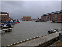 SO8218 : Main Basin, Gloucester Docks by Rudi Winter