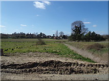TM3669 : Looking towards Sibton Nursery School by Adrian Cable