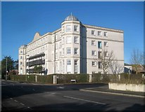 TM1714 : Clacton-on-Sea: Imperial Court (the former Beaumont Hall Hotel) by Nigel Cox