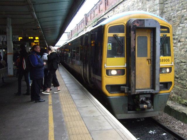 Sheffield Midland Railway Station