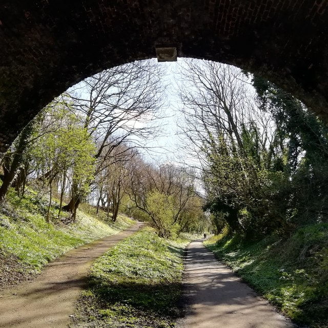 Liverpool Loop Line at Thomas Lane Tunnel