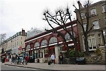 TQ2785 : Belsize Park Tube Station by David Howard